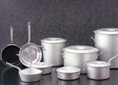 アルマイト加工例1(鍋類)