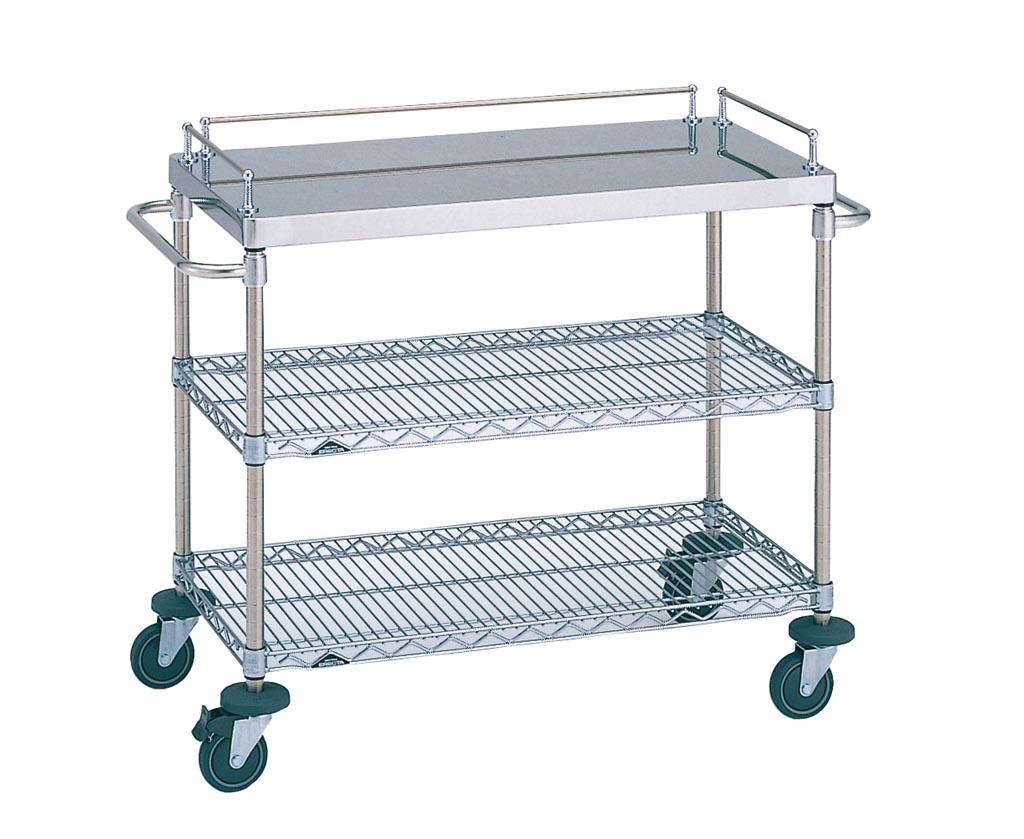 回診車 - (適温・配膳機器|エレクターカート):厨房機器・厨房設計の日本給食設備株式会社回診車